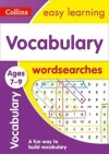 Vocabulary Word Searches Ages 7-9 Ideal for Home