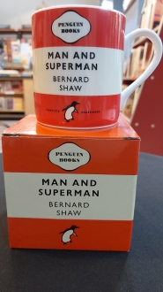 Man and  Superman Bernard Shaw: Red Mug