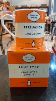 Persuasion Charlotte Bronte:  Orange Mug