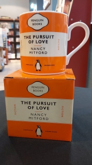 The Pursuit of Love Nancy Mitford: Orange Mug
