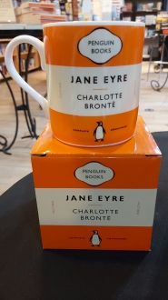 Jane Eyre Charlotte Bronte:  Orange Mug
