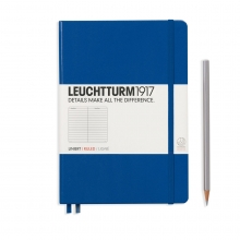 Notebook Medium (A5) Hardcover Ruled, Royal Blue