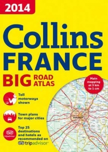 2014 Collins France Big Road Atlas