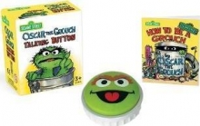 Sesame Street Oscar the Grouch Talking Button