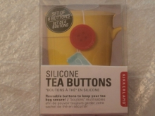Silicone tea buttons: 6 buttons
