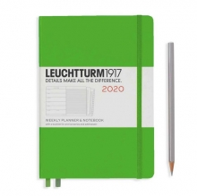 Weekly Planner Medium (A5) 2020, with Extra Book