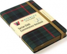 Stewart Hunting Tartan Cloth Commonplace Notebo
