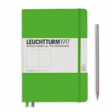 Leuchtturm Medium Hardcover Plain Fresh Green A6