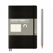 Notebook Paperback (B6+) Dotted, Softcover, 123