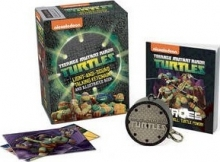 Teenage Mutant Ninja Turtles: Light-and-Sound Talking Keychain and Illustrated Book
