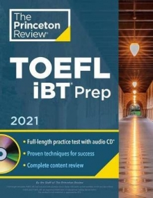Princeton Review TOEFL iBT Prep with Audio CD, 2
